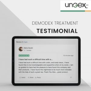 Demodex Testimonial | Ungex