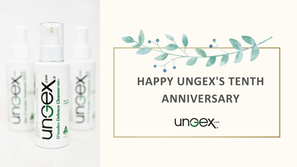Demodex mites solution-Ungex's tenth anniversary