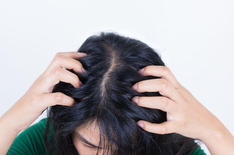 crawling sensation on hair