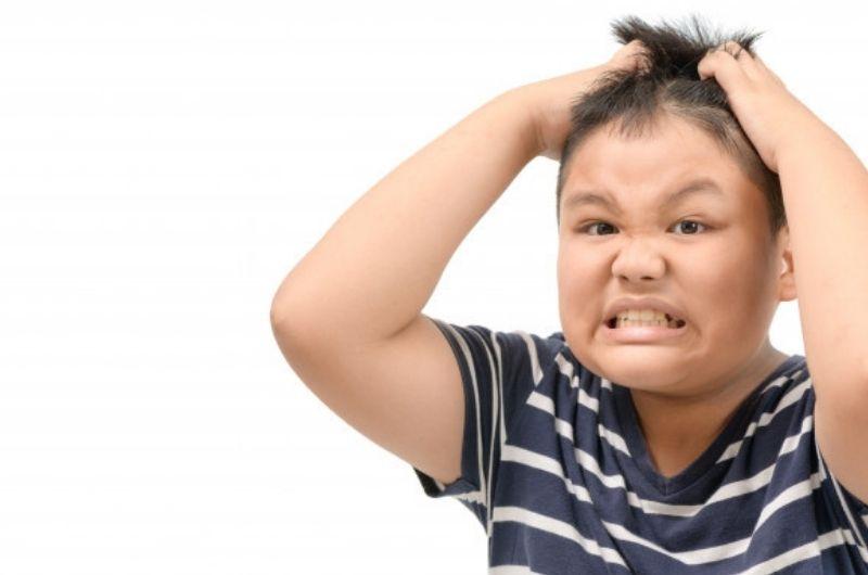 Crawling sensation on scalp