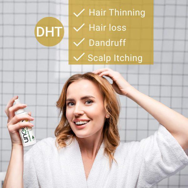 hair loss and hair thinning-dht